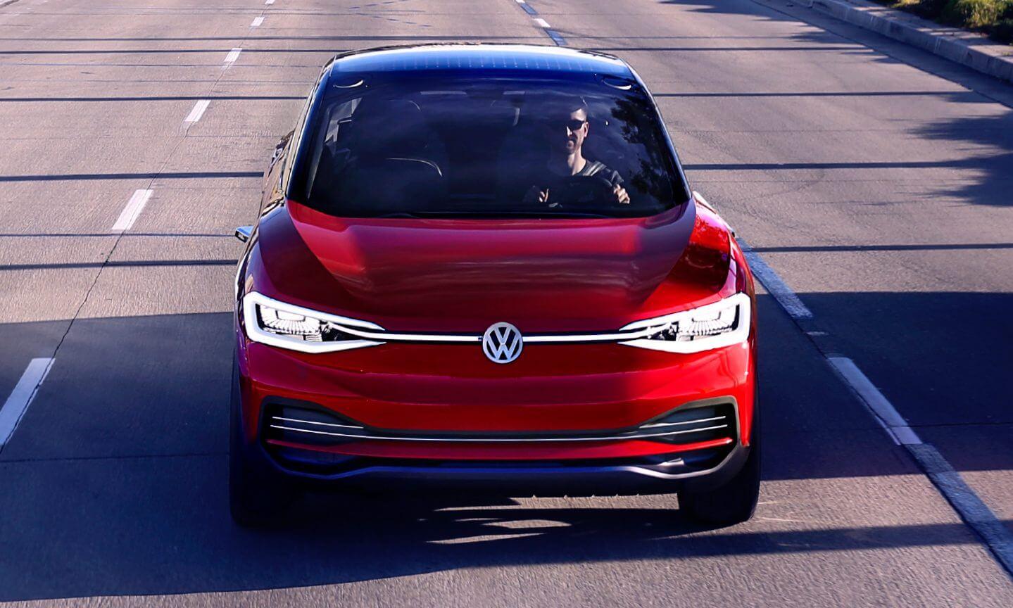 Электрический кроссовер Volkswagen I.D. Crozz