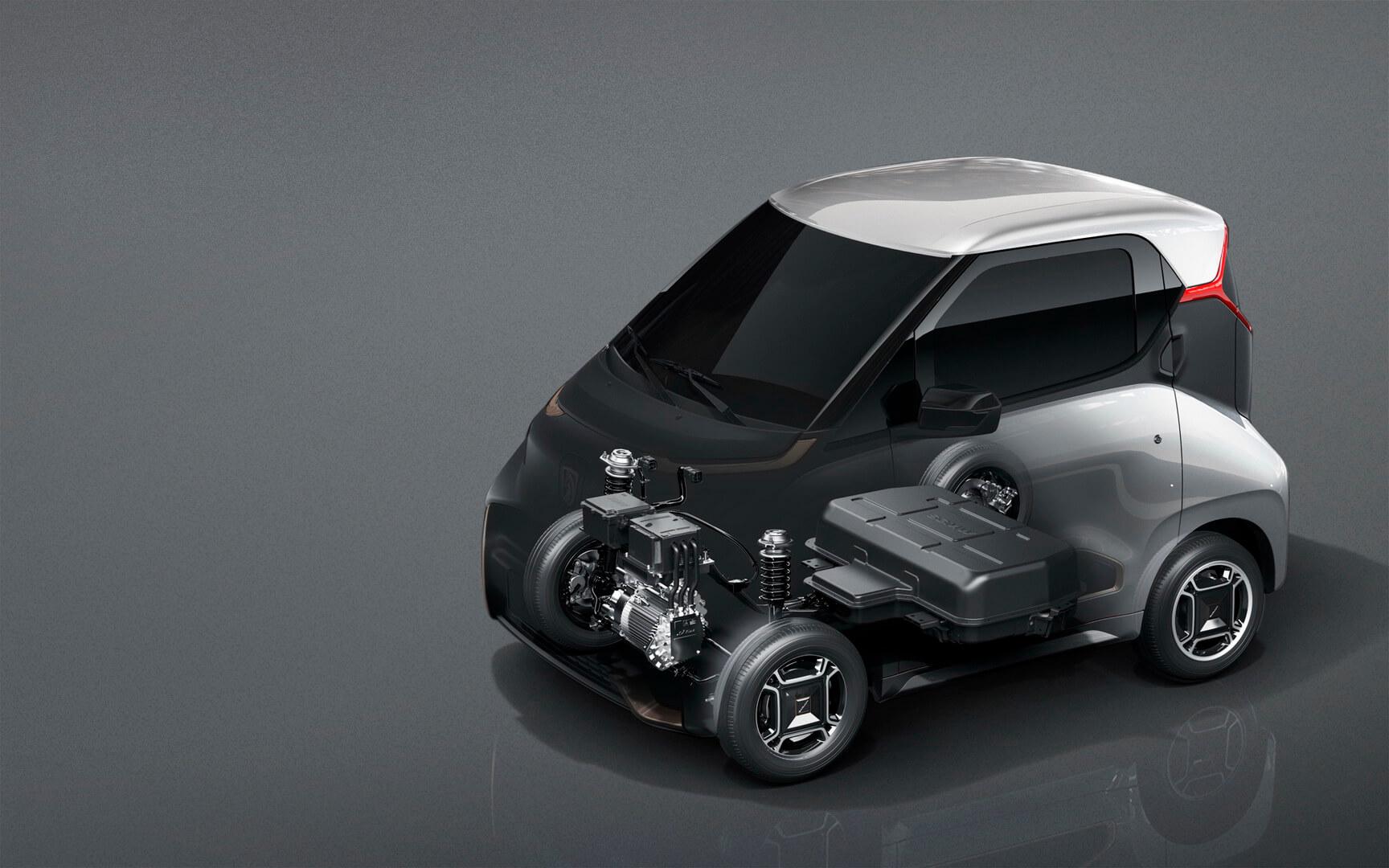 Силовая установка электромобиля Baojun E200