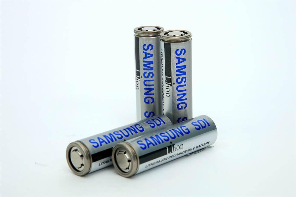 Цилиндрическая аккумуляторная батарея Samsung SDI
