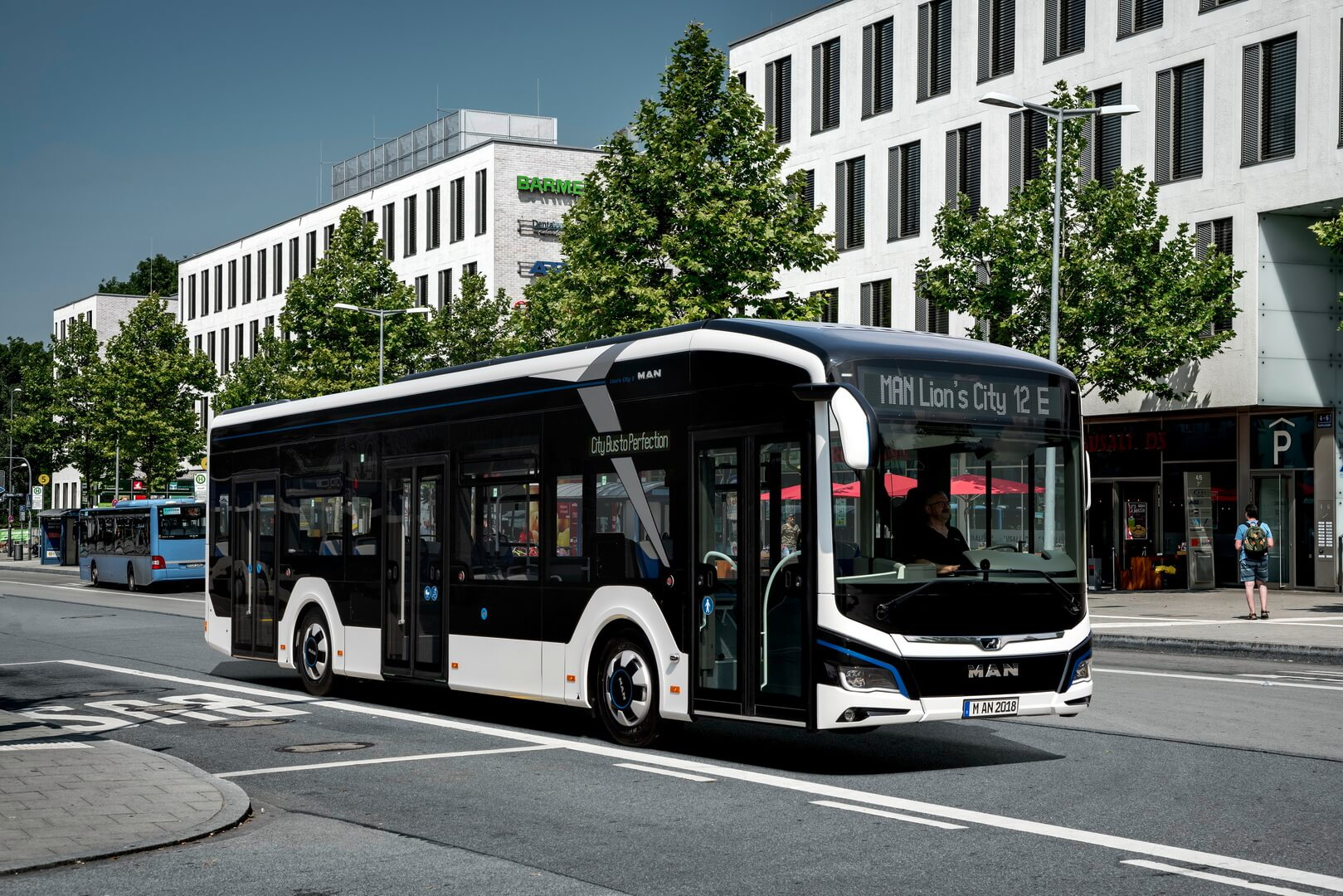 Электрический автобус MAN Lion's CityE