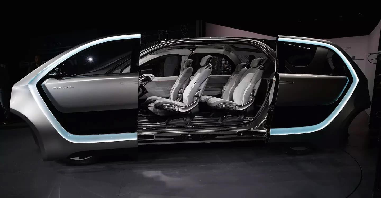 Салон концептуального автомобиля Chrysler Portal