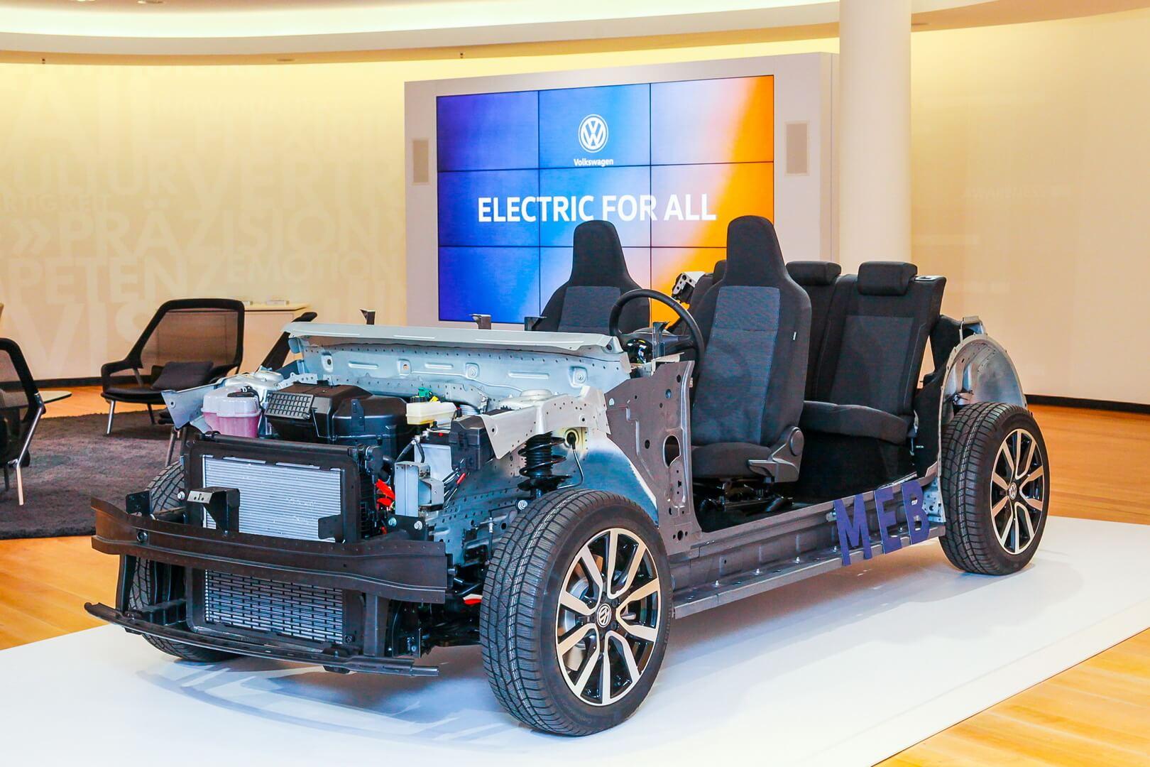 Модульная электрическая платформа MEB