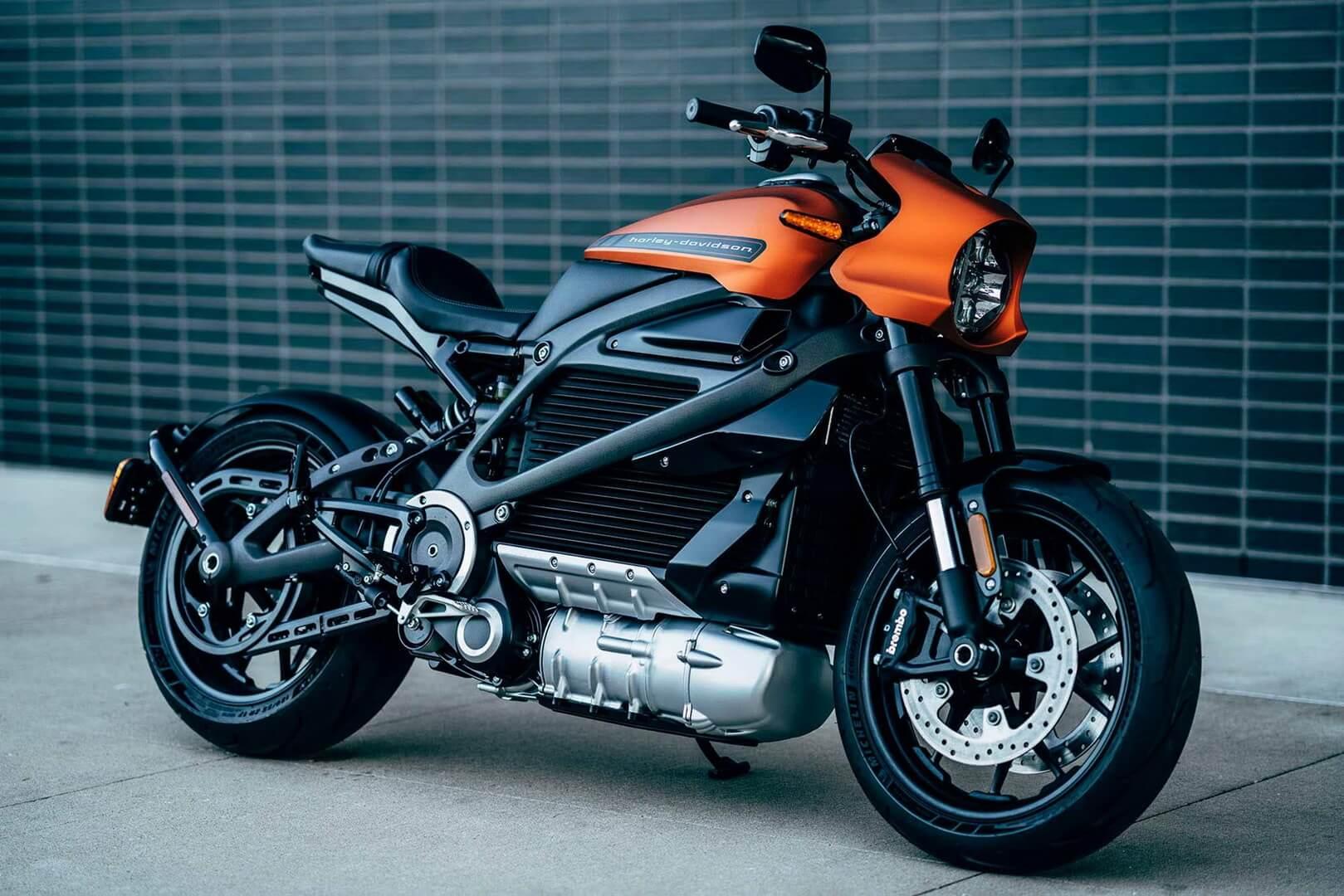 Производственная версия электрического мотоцикла Harley-Davidson LiveWire