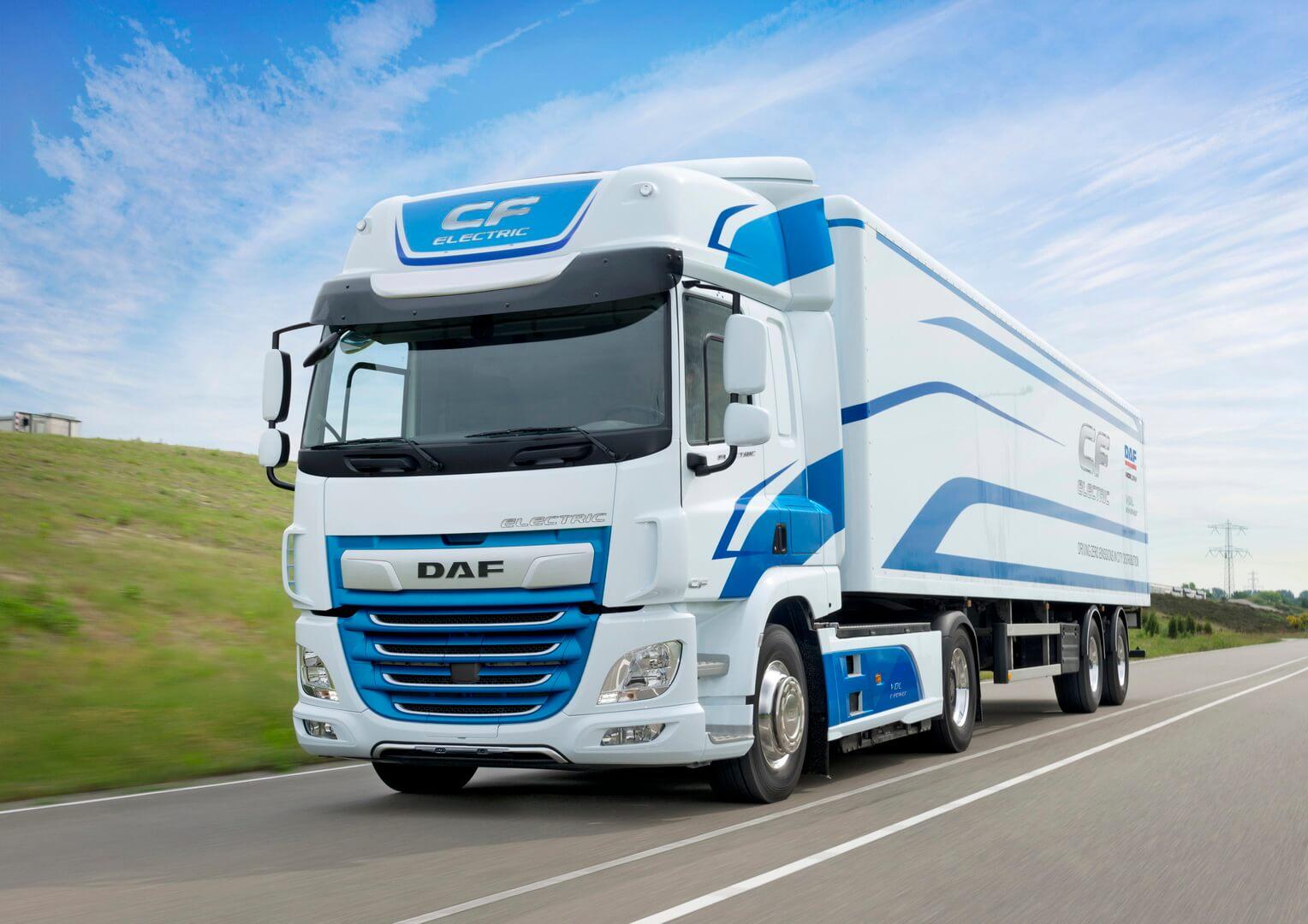 Электрический грузовик/тягач DAF CFElectric