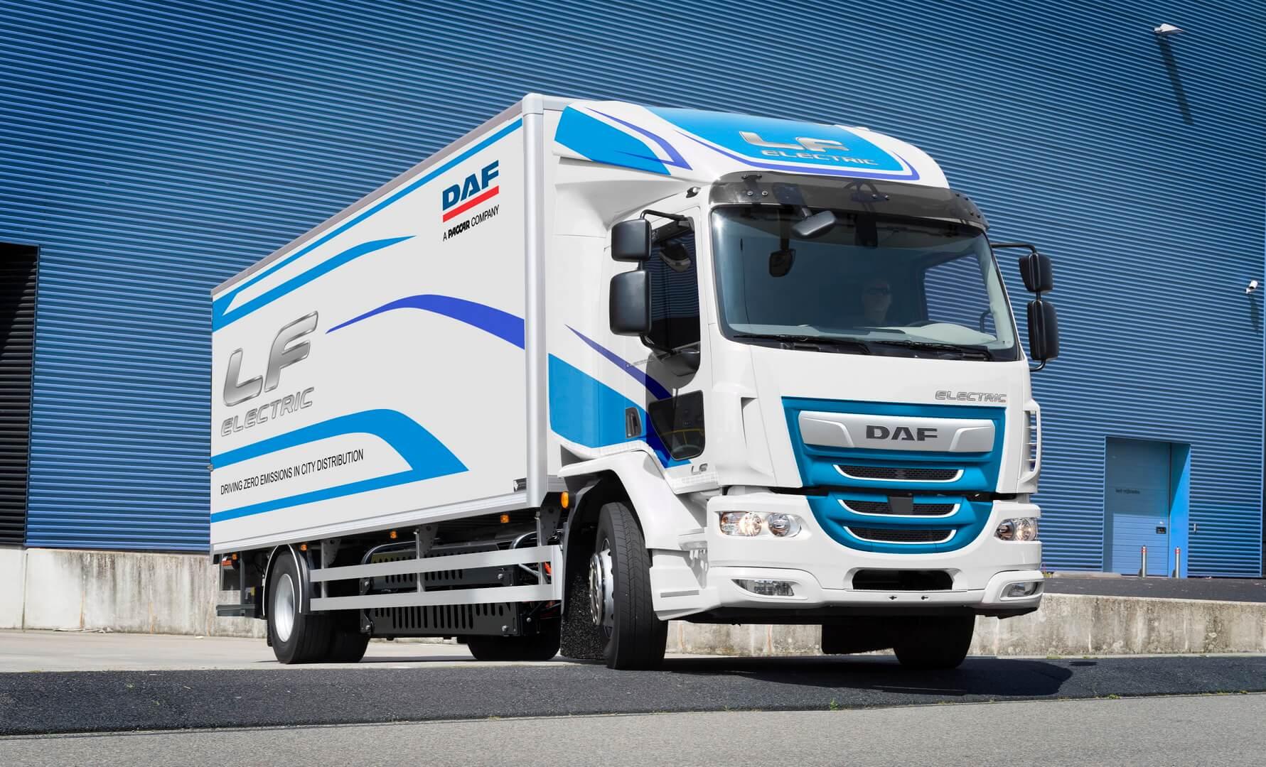 Электрический грузовик DAF LFElectric
