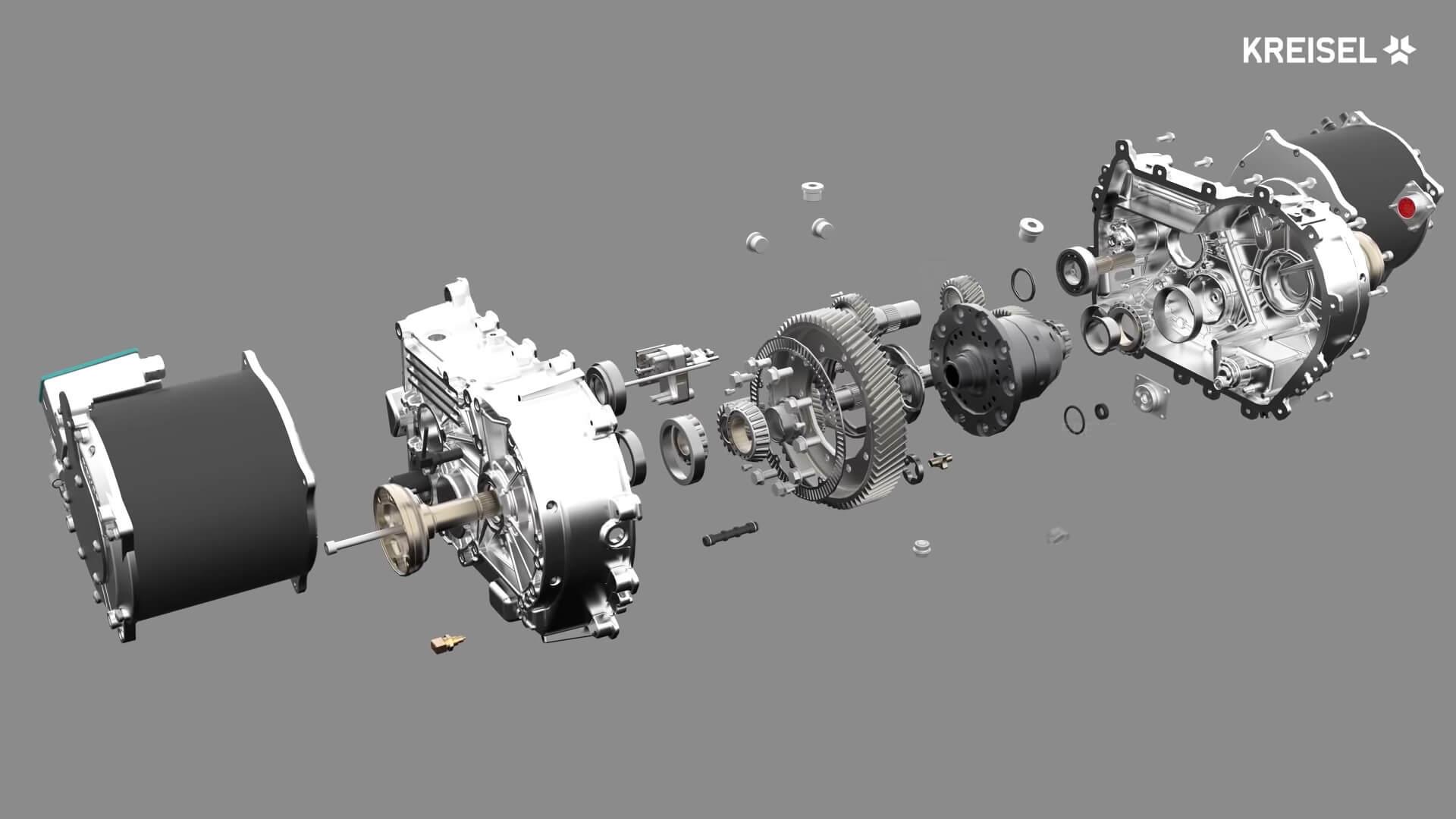 Детализация 2-х ступенчатой автоматической коробки Kreisel