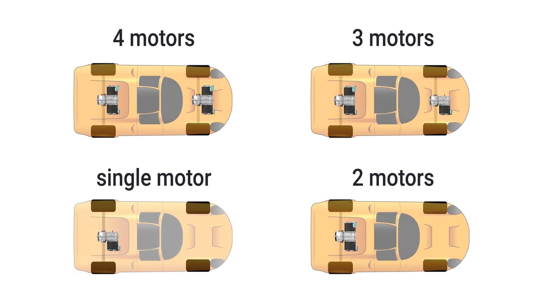 Варианты использования 2-х ступенчатой автоматической коробки Kreisel