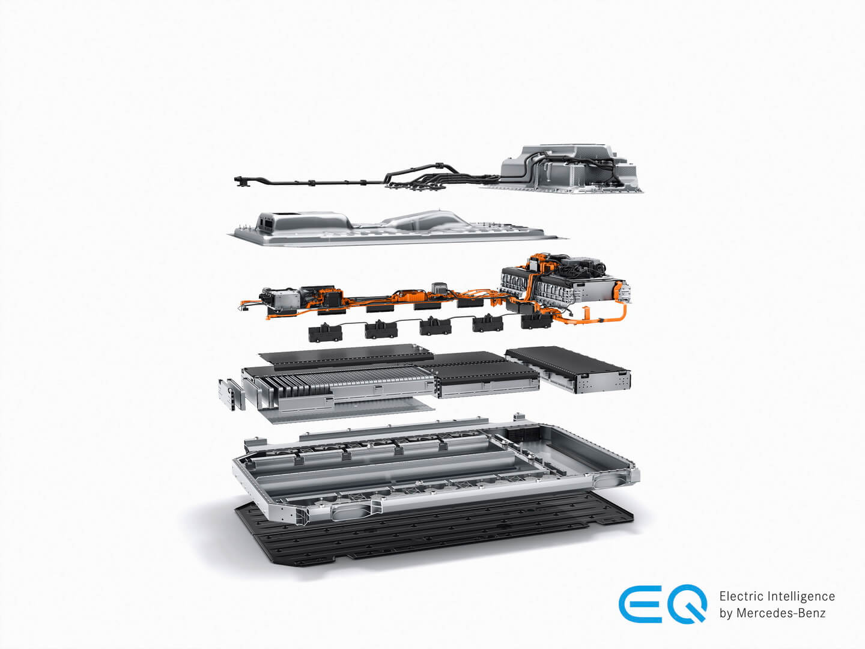 Аккумулятор Mercedes-Benz EQC