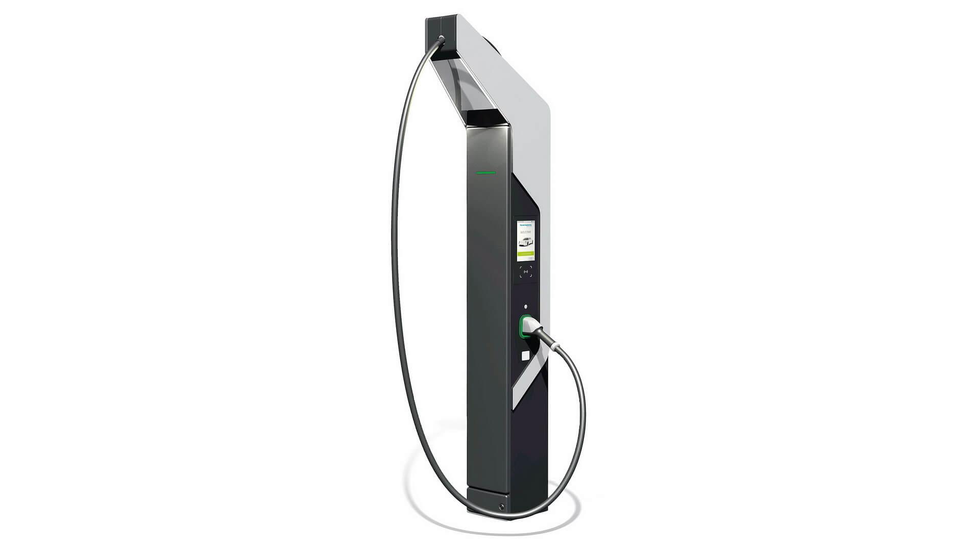 Концепция зарядки от Porsche, позволяет электромобилям заряжаться всего за 20 минут