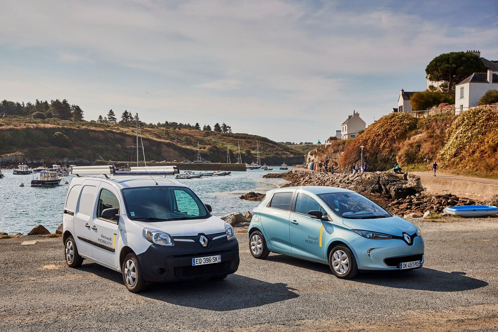 Электромобили Renault ZOE иKangoo Z.E.
