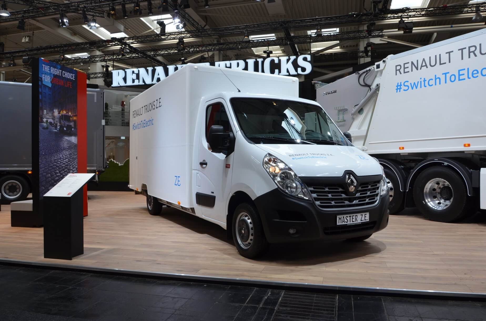 Renault Master Z.E. Electric Truck