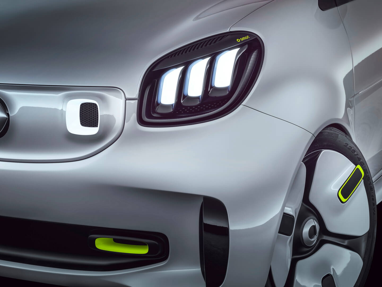 Дизайн электрического кабриолета Smart Forease