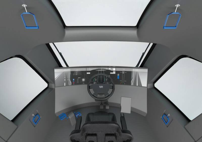 Многофункциональная кабина водителя для физических упражнений