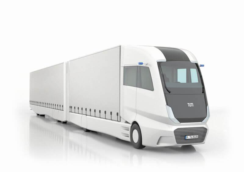 Беспилотный грузовик LHV с дизельным гибридным приводом