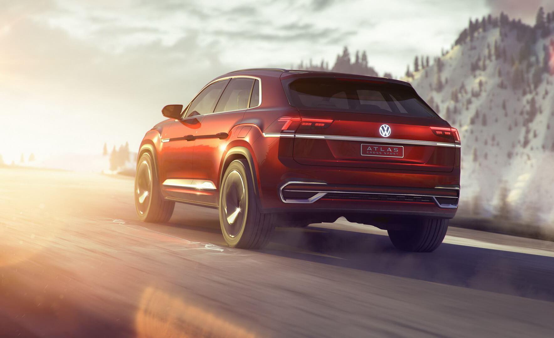 Концепт Volkswagen Atlas Cross Sport
