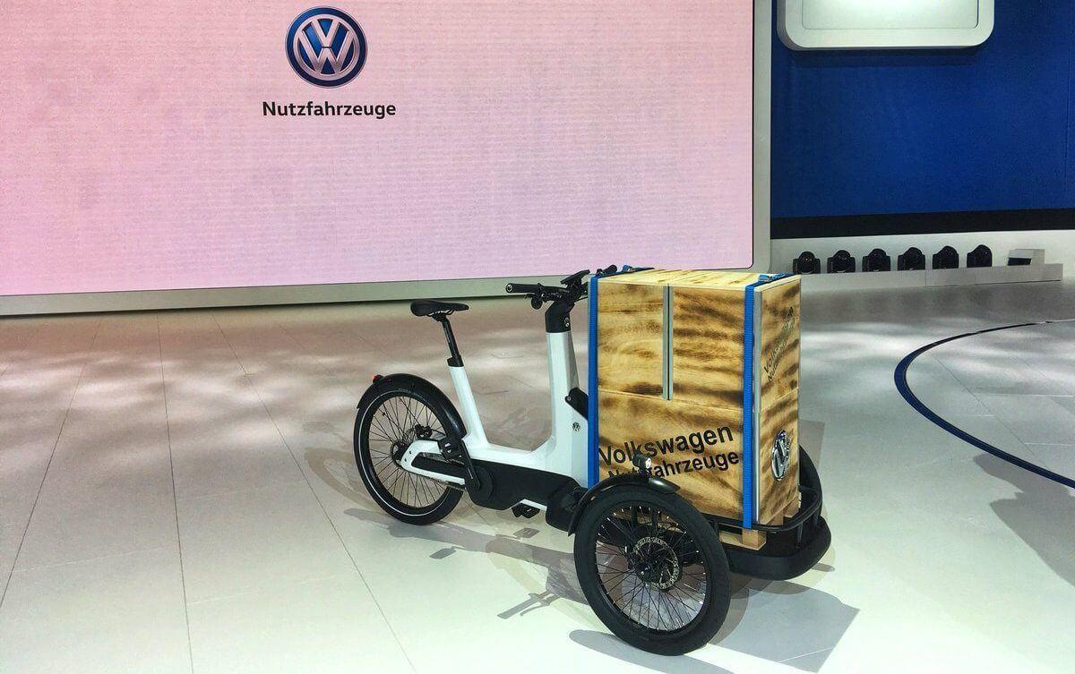Электрический велосипед Cargo e-Bike