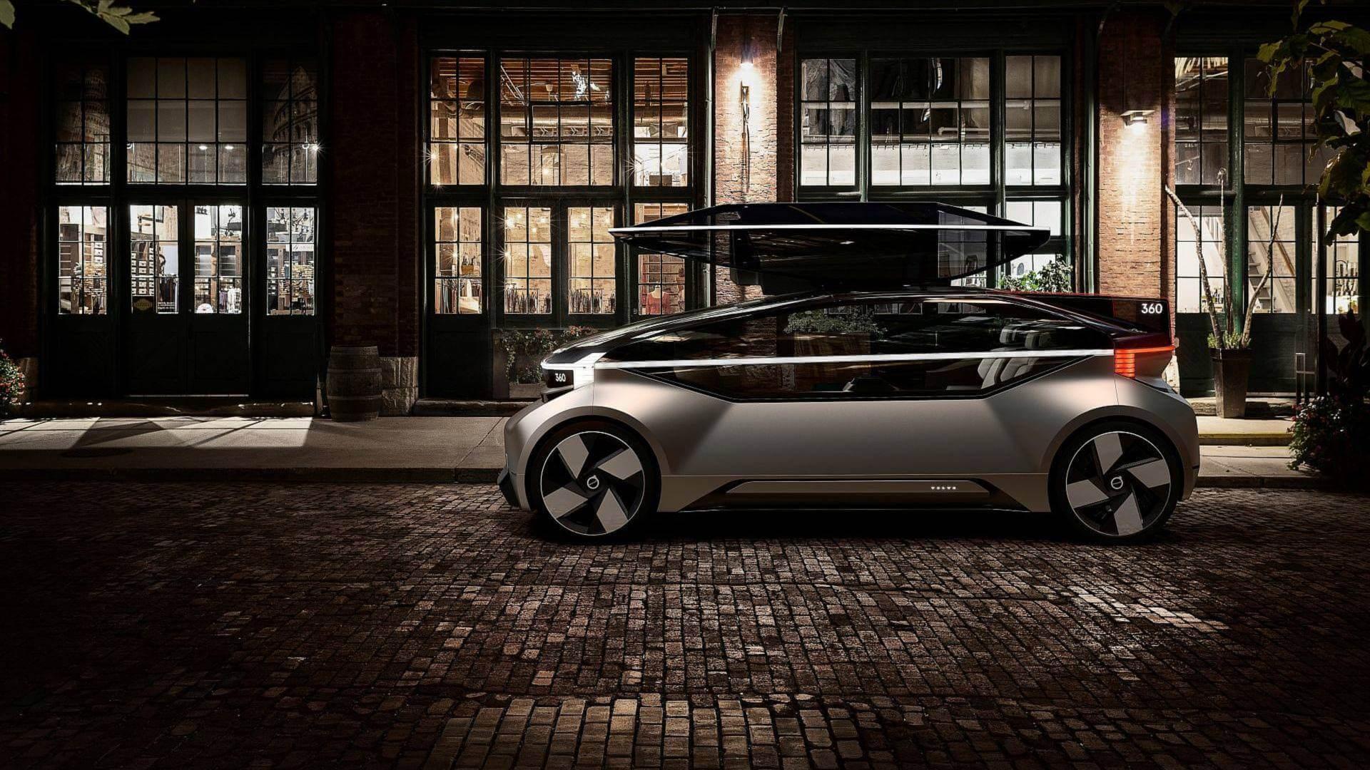 Полностью автономный электрический концепт Volvo 360c