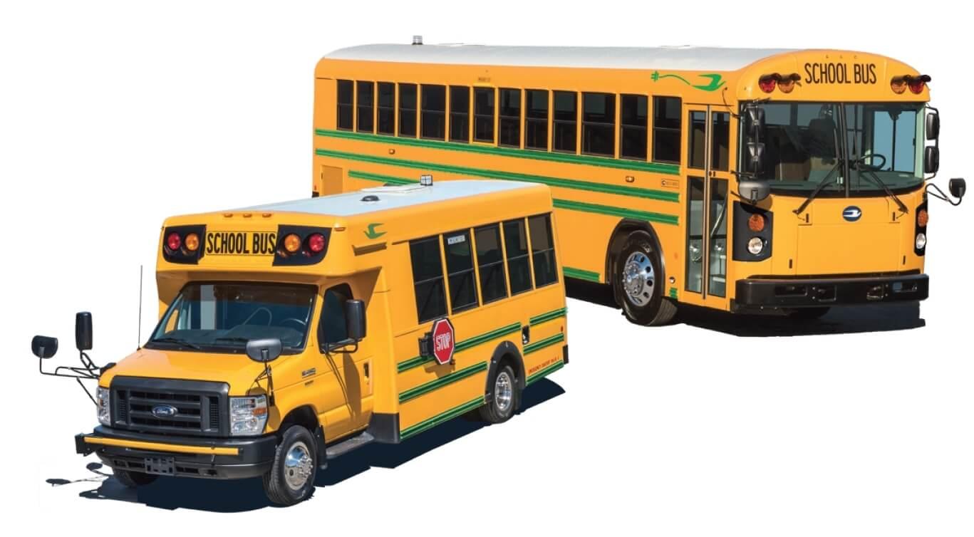 Автобусы Blue Bird