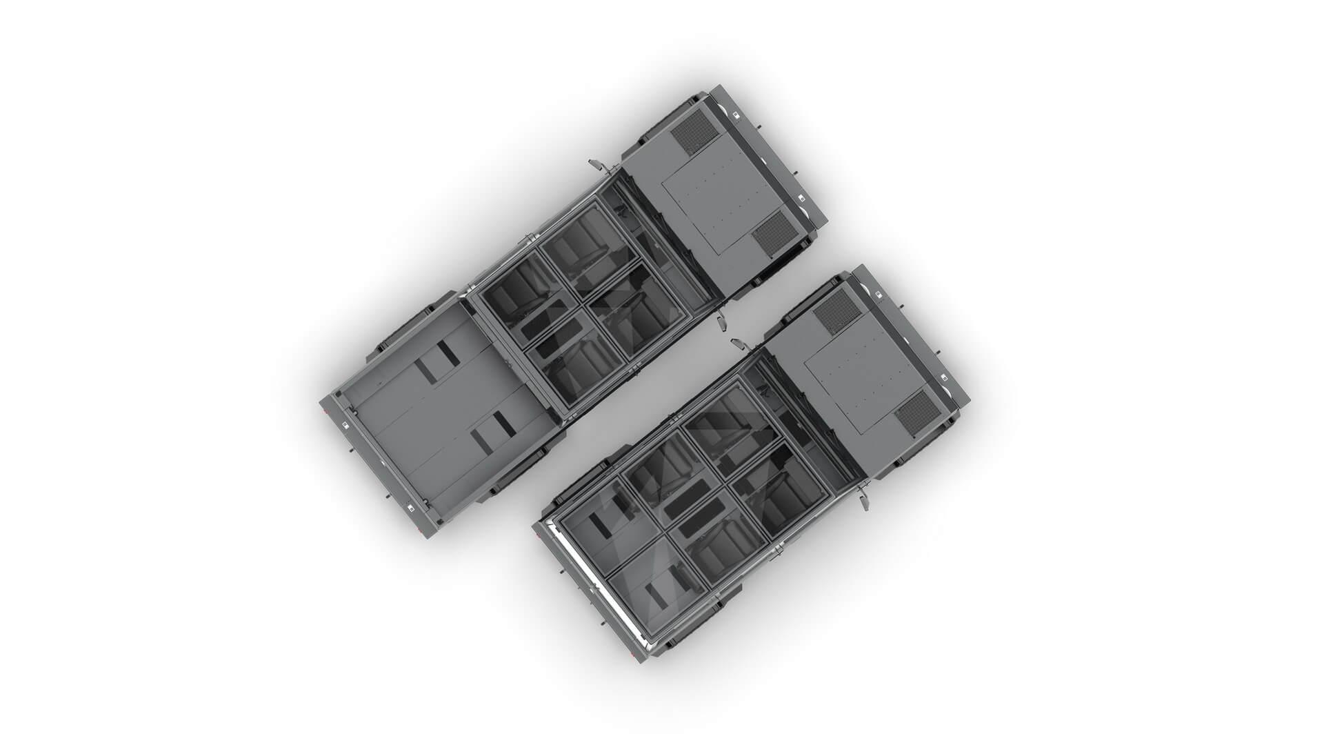 Bollinger B2: электропикап способный перевозить груз длиннее своего кузова