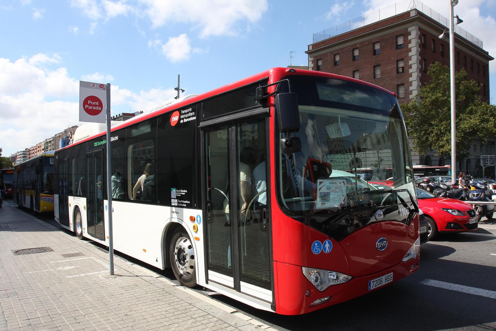 Электроавтобус BYD вЕвропе