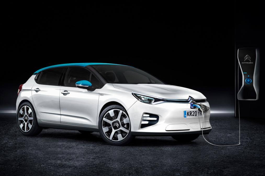 Концепт электромобиля Citroën C4