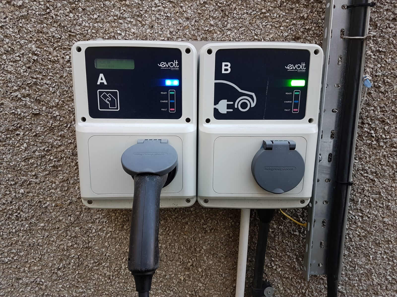 Настенные зарядные станции