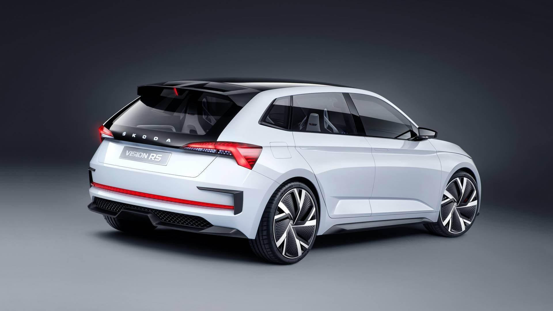 Концепт Škoda Vision RS PHEV