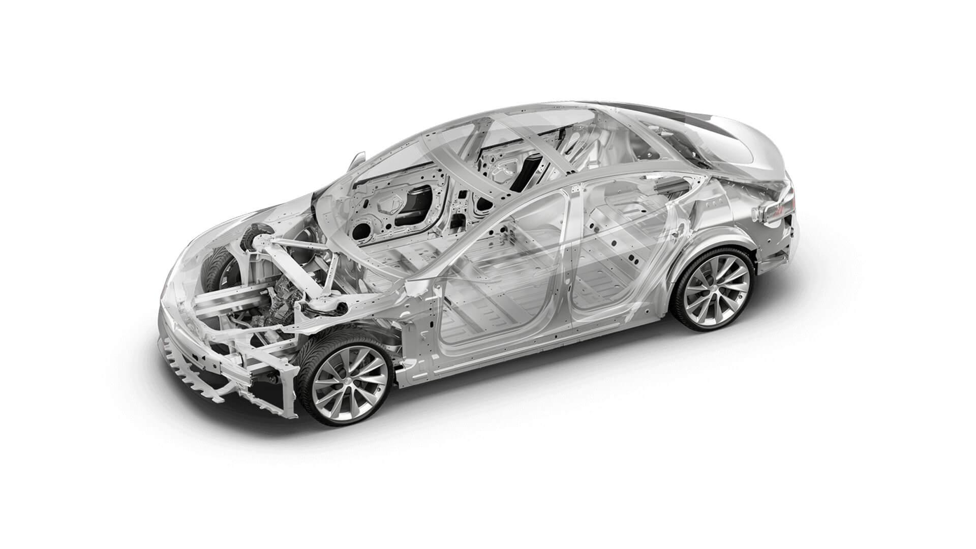 Кузов Tesla Model S