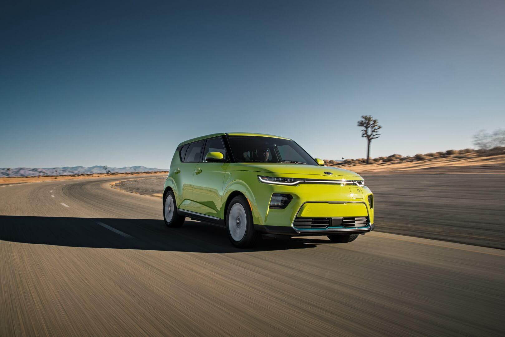 Электромобиль Kia Soul EV 2020