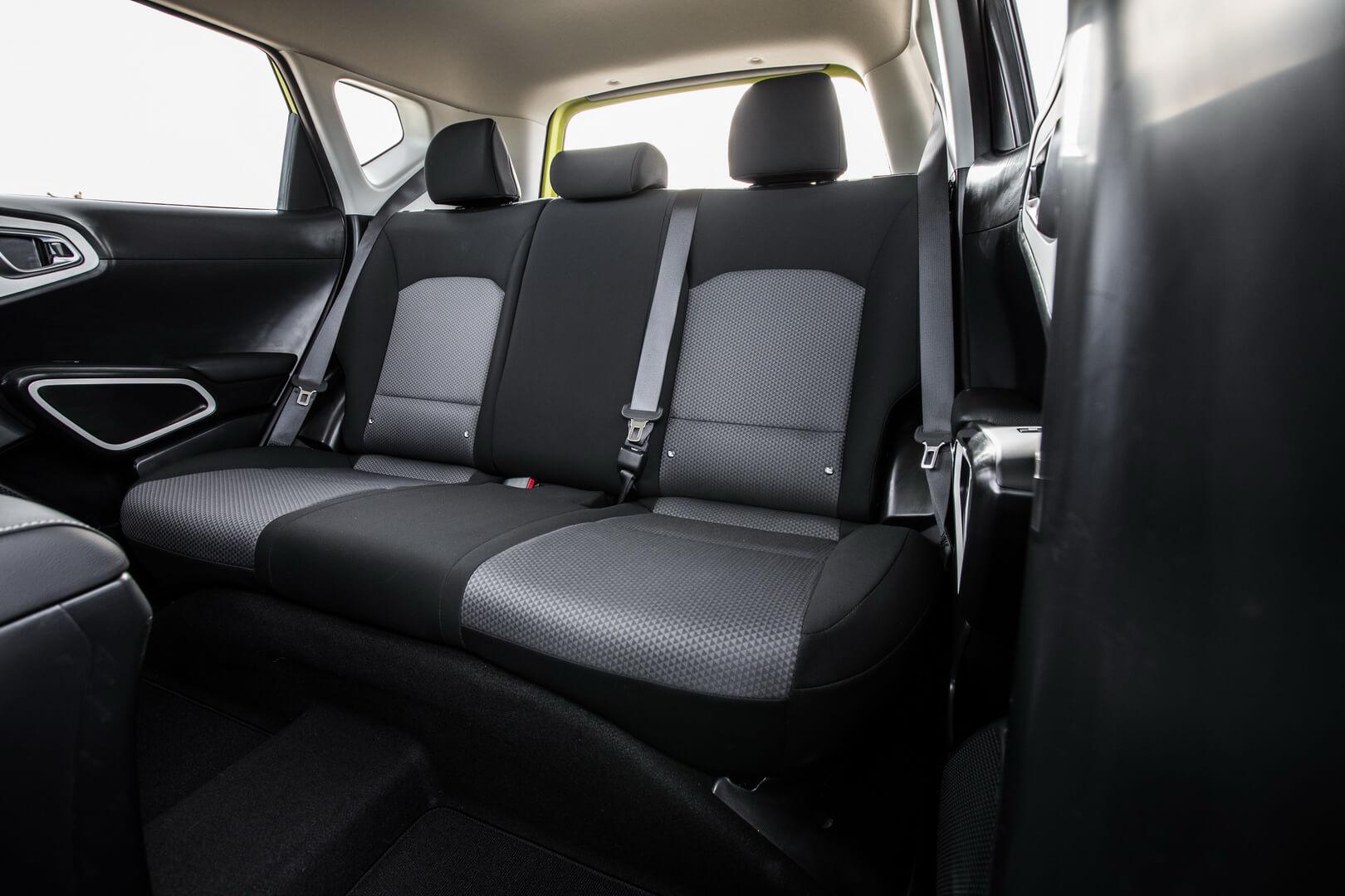 Задние сиденья Kia Soul EV 2020