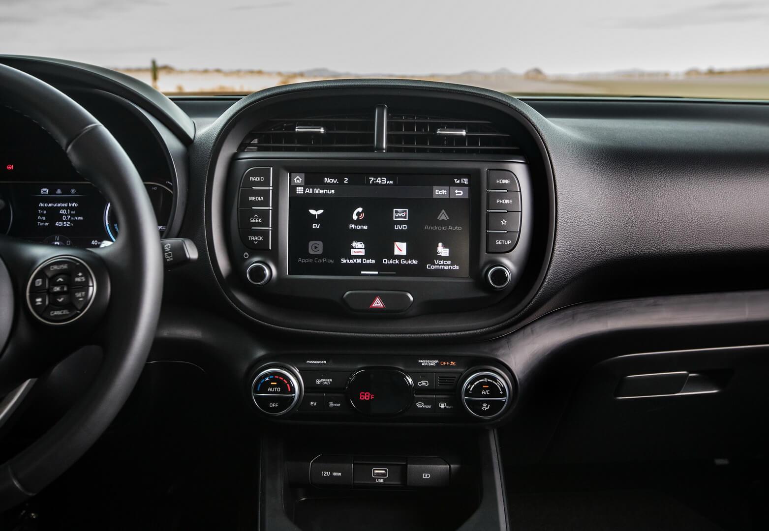 Мультимедийная система Kia Soul EV 2020