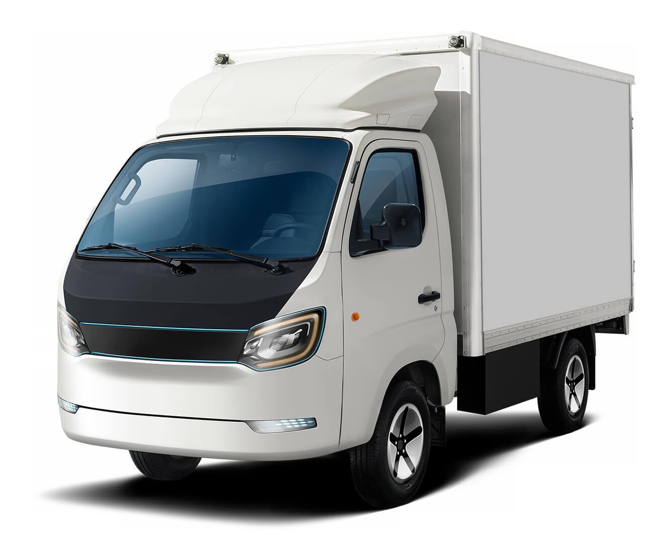 Электрический грузовик на суперконденсаторах Iona Truck