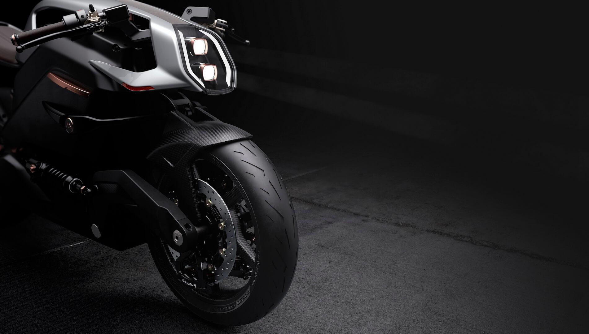 Электрический мотоцикл Arc Vector