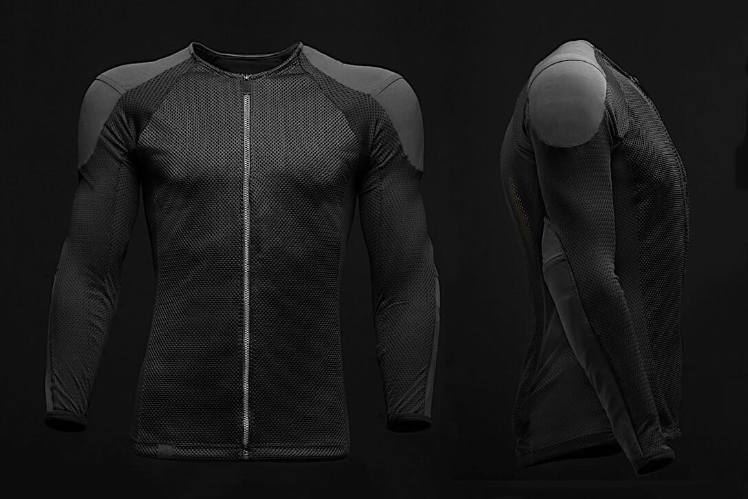 Специальная бронировання куртка для электробайка Arc Vector