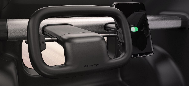 Рулевое колесо и приборная панель Biomega SIN