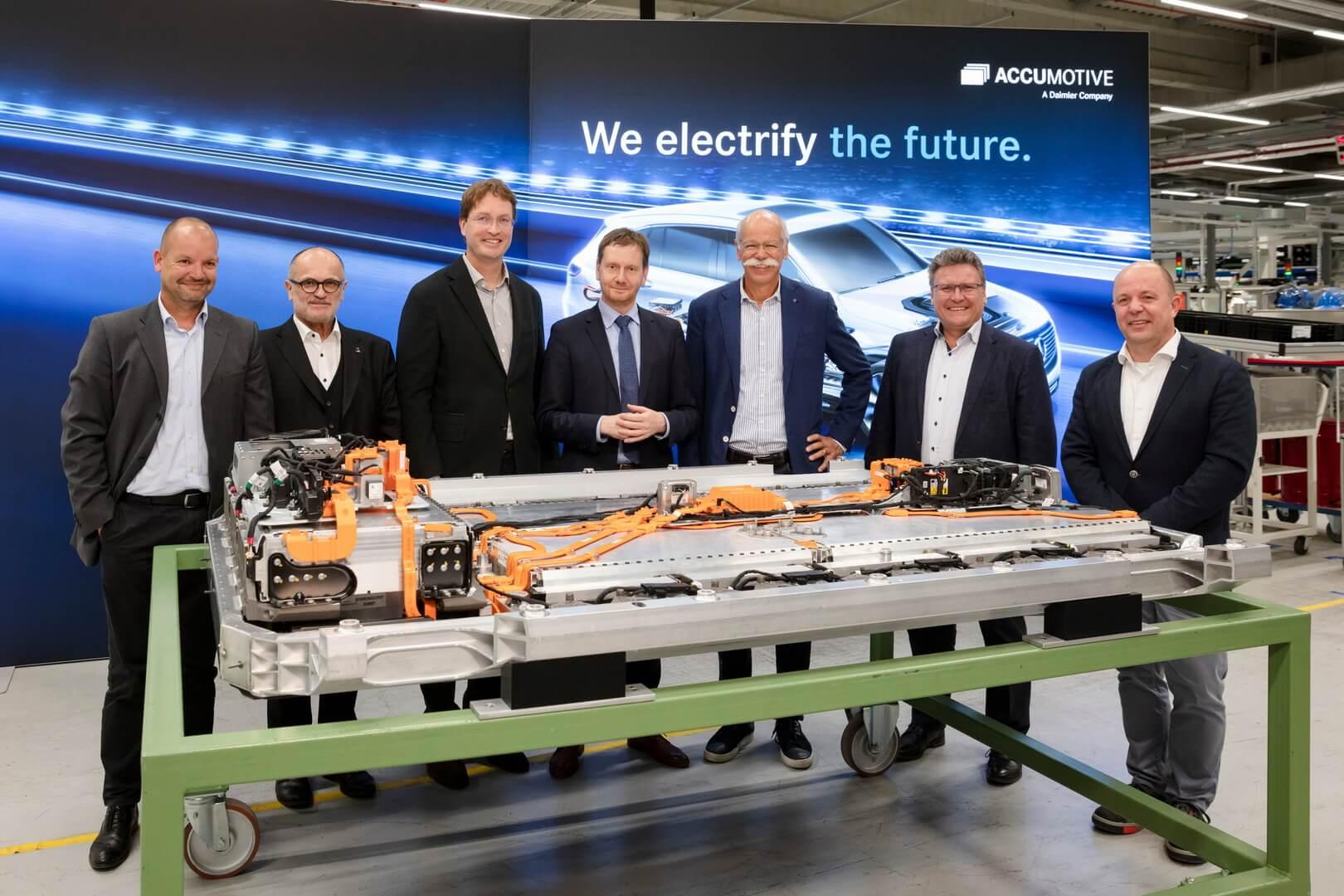 Аккумуляторная батарея электрического кроссовера Mercedes-Benz EQC