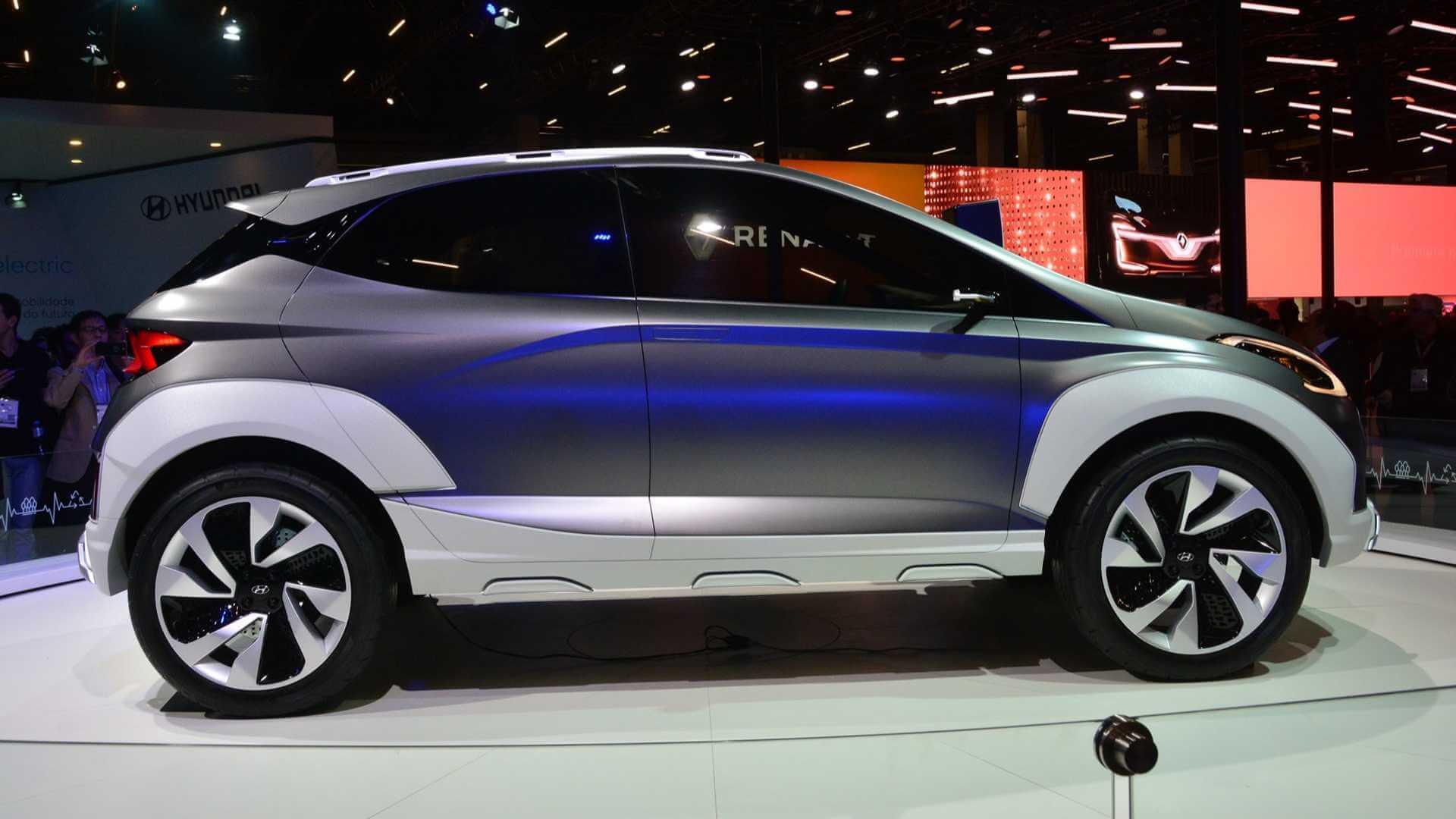 Электрокроссовер Hyundai SAGA EV