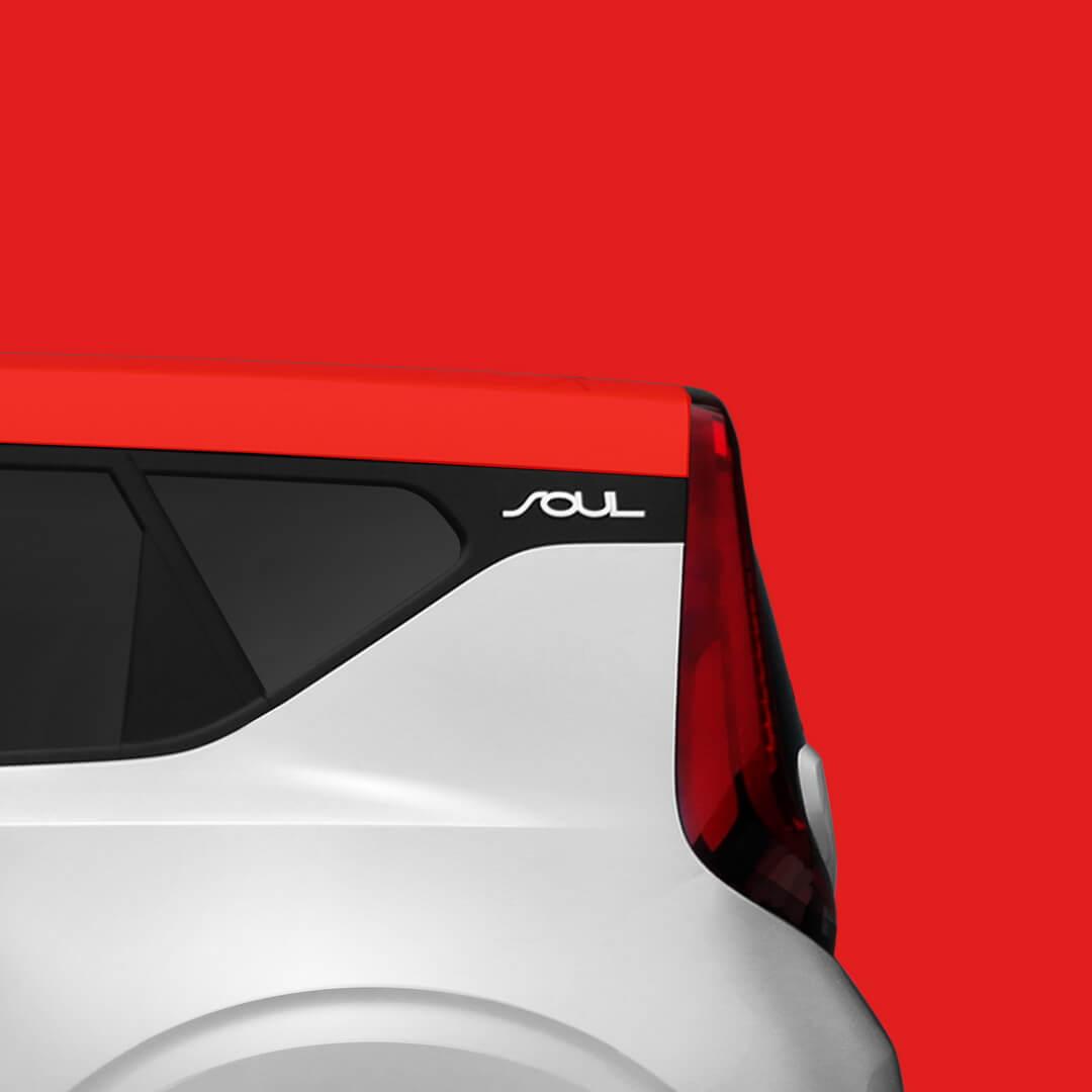 Корма электромобиля Kia Soul 2019
