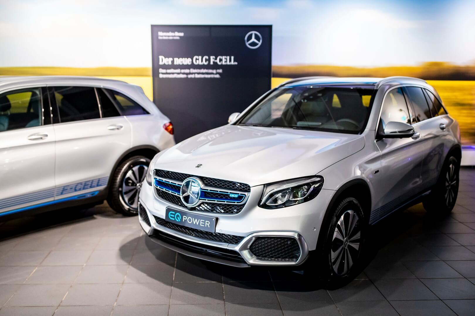 Водородный электрокроссовер Mercedes-Benz GLC F-Cell