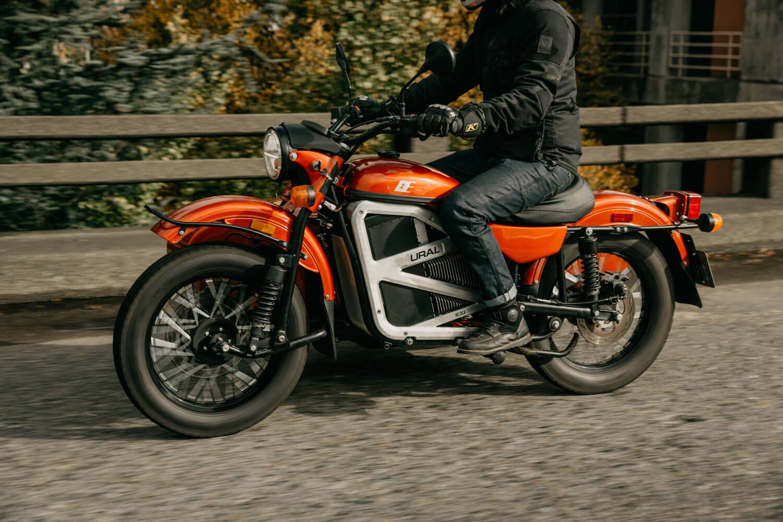 Электрический мотоцикл Ural