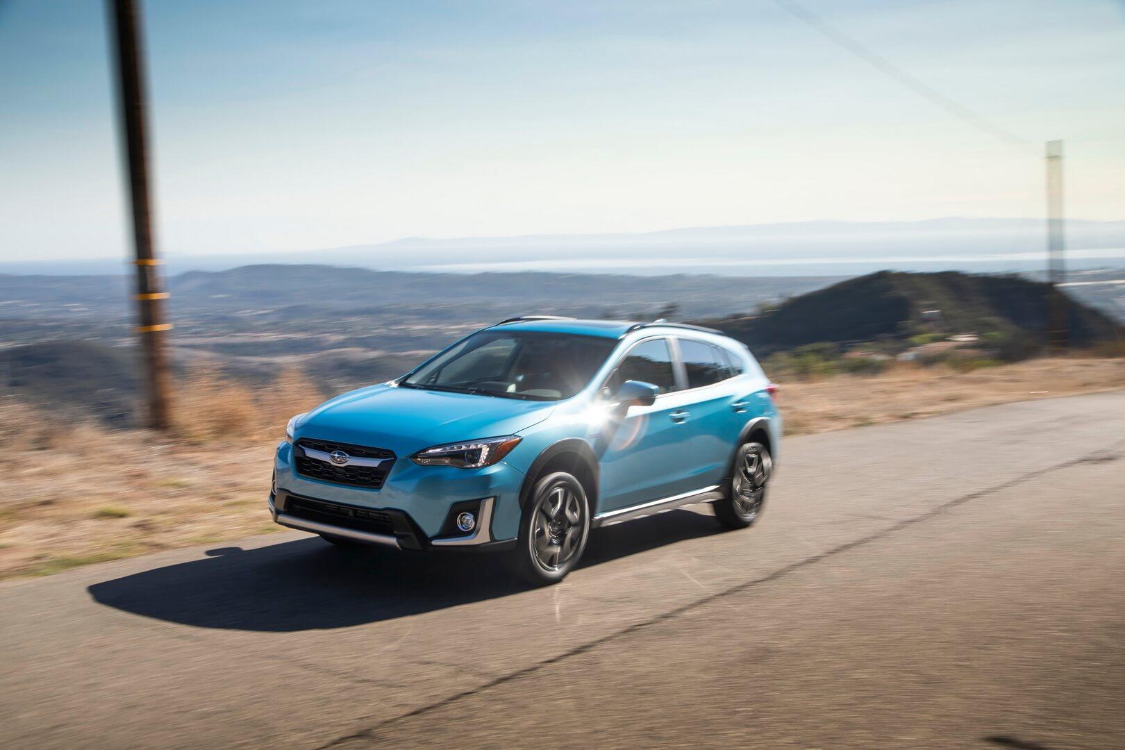 Subaru представляет первый плагин-гибрид Crosstrek Hybrid