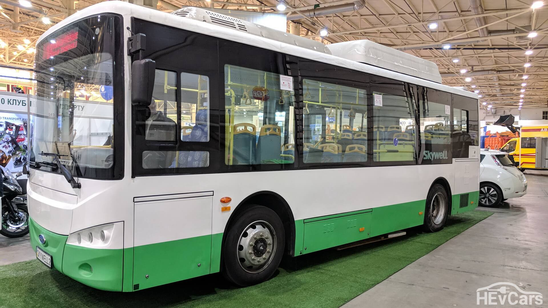 Электрический автобус Skywell