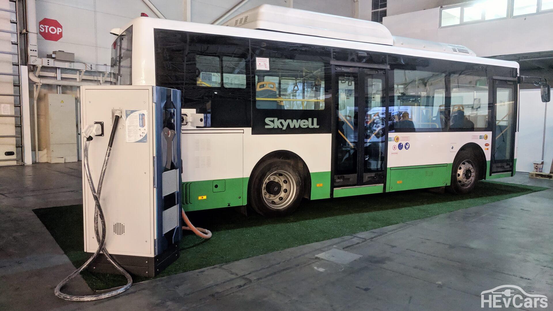 8,5 метровый электроавтобусSkywell