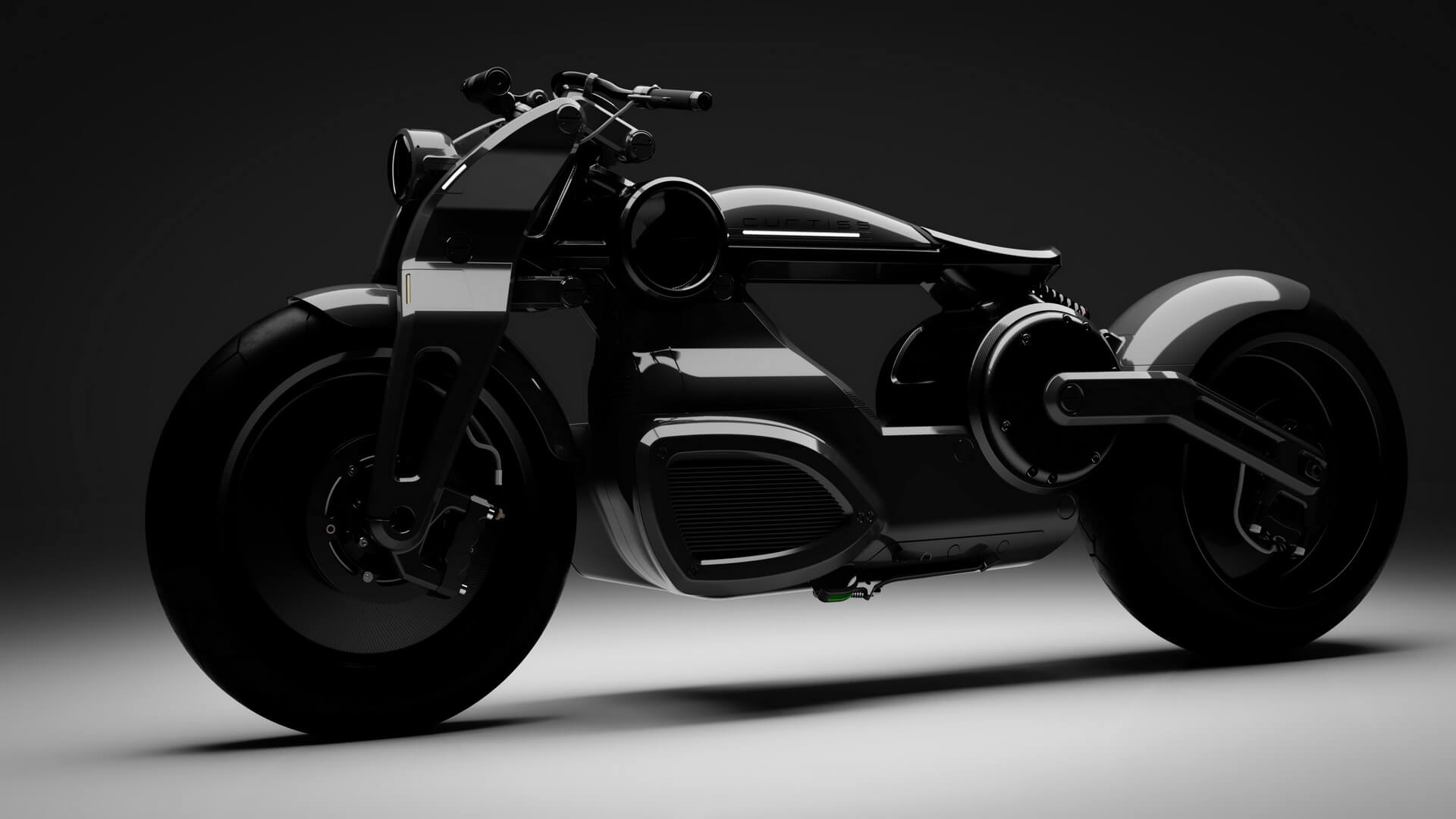 Электрический мотоцикл Zeus Bobber