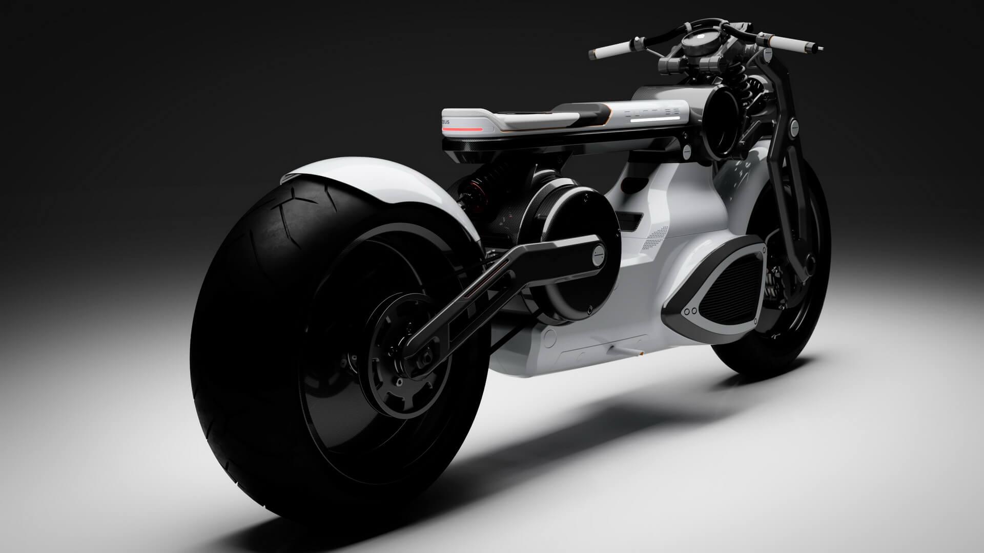 Электрический мотоцикл Zeus Cafe - фото 3