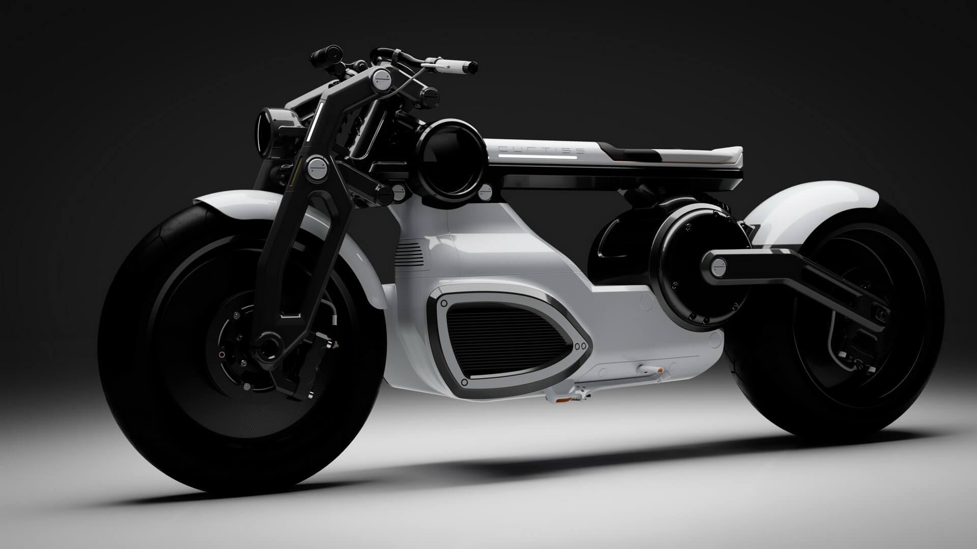 Электрический мотоцикл Zeus Cafe