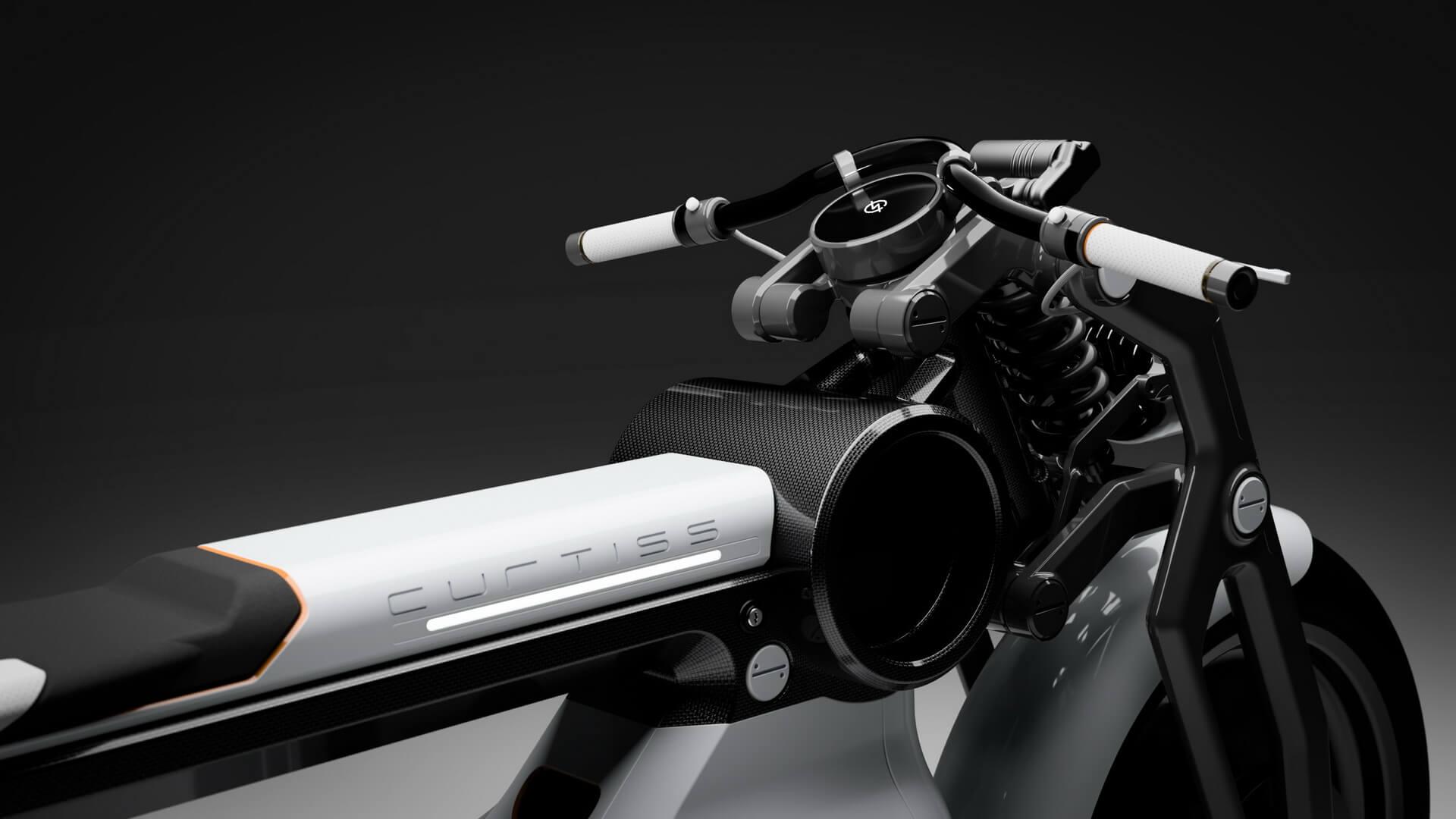Электрический мотоцикл Zeus Cafe - фото 2