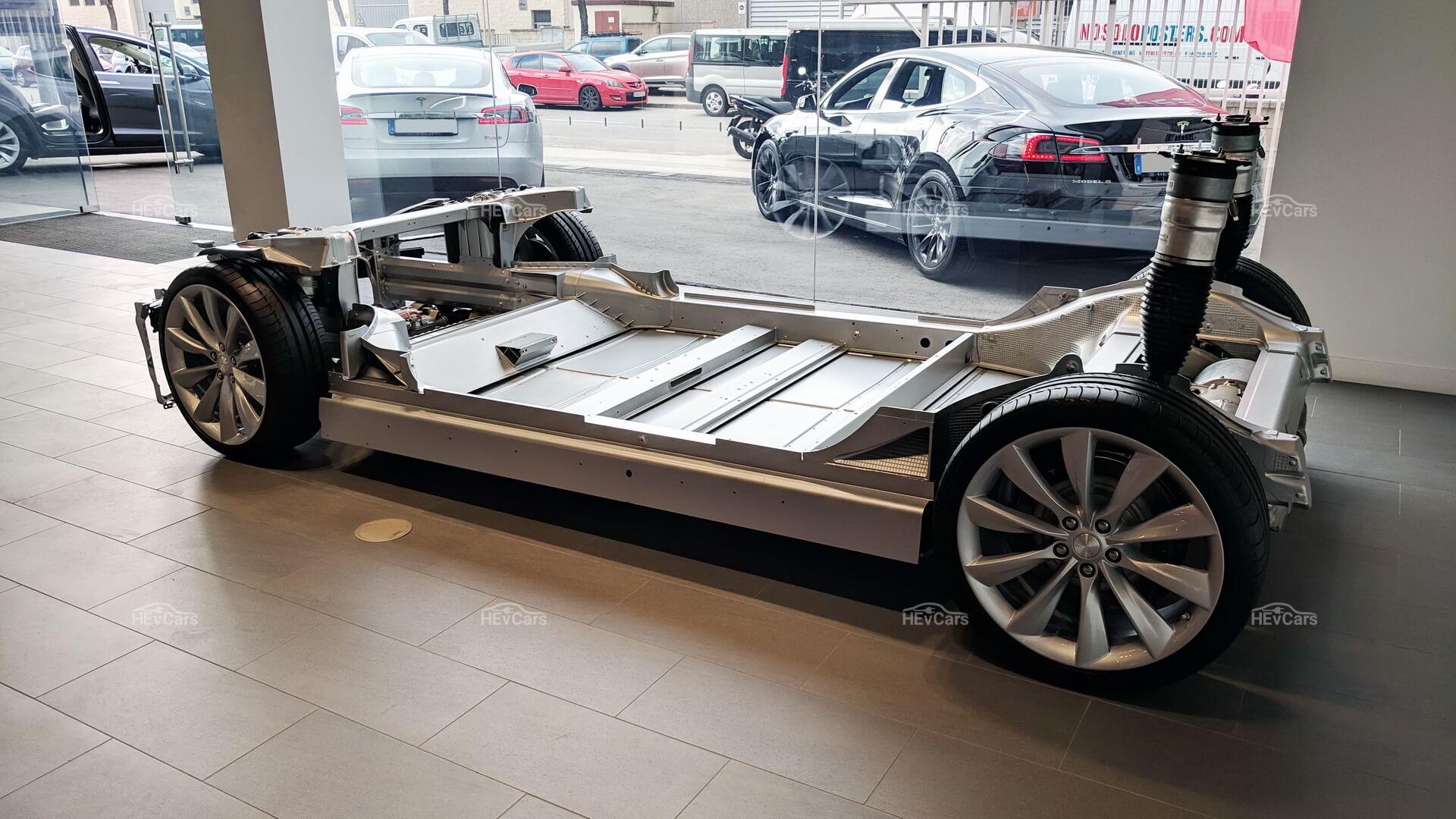Силовая установка Tesla Model S