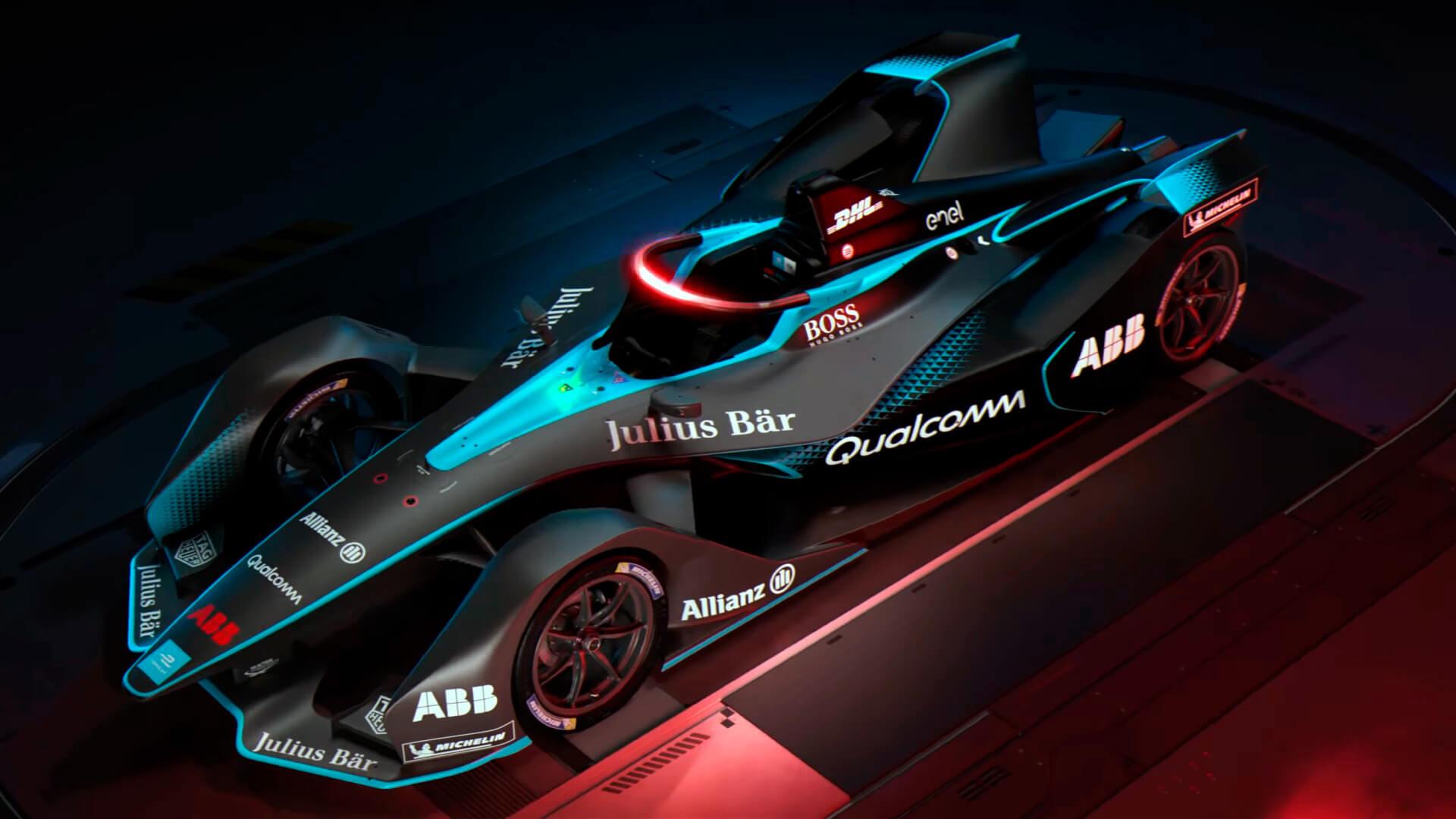 Гоночный электромобиль Gen2 Formula E