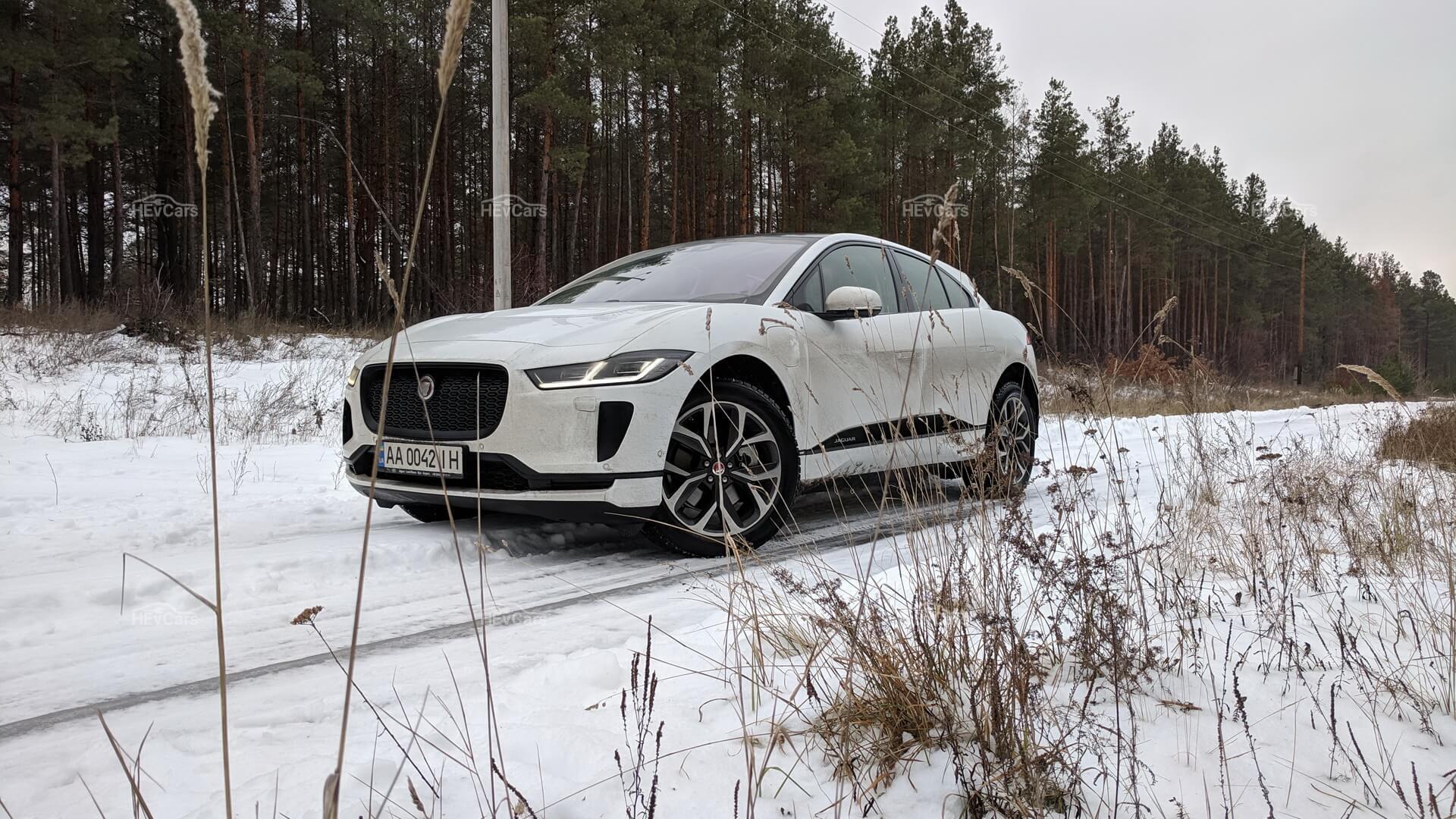 Первый серийный Jaguar I-Pace в Украине